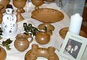 Keramik zur Weihnachtszeit 1